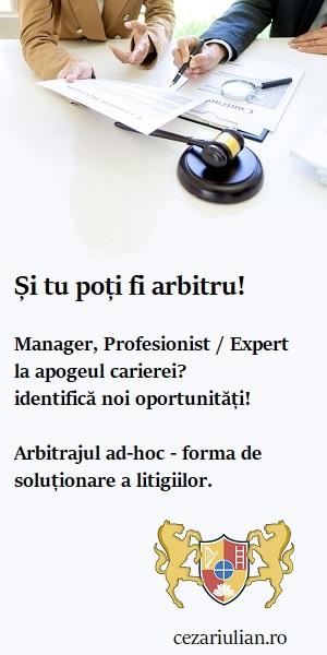 arbitrajul ad-hoc