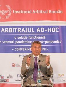 arbitrajul comercial ad-hoc