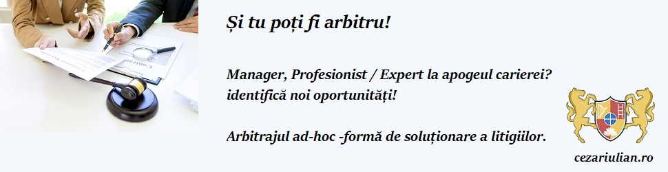 arbitraj ad-hoc